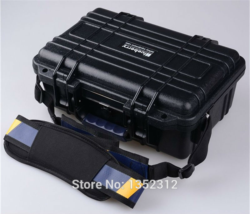 341*249*130mm IP68 sealed waterproof tool equipments case abs safety portable box military equipment plastic case for tools box ...