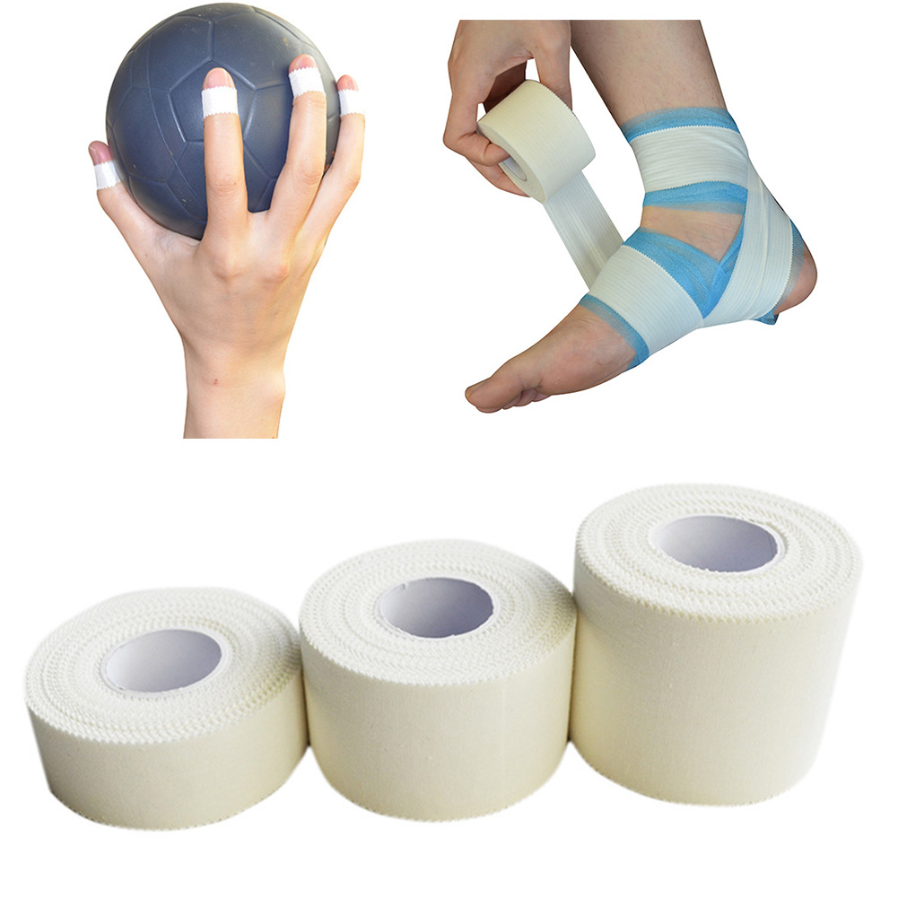 Breathable First Aid Bandage Elastic Roll Adhesive Athletic Tape <font><b>Sport</b></font> <font><b>Injury</b></font> Muscle Strain Protection Kinesiology Tape image