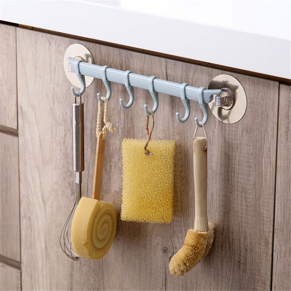 Rustproof Bathroom Tools Organizer Towel Holder Key Hooks Kitchen Corner Organizer Cupboard Storage Rack Shelf3