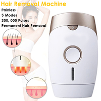 LED Laser IPL Painless Epilator Hair Removal Machine Face Armpit Full Body Permanent Depilator Electric Personal Care Appliance