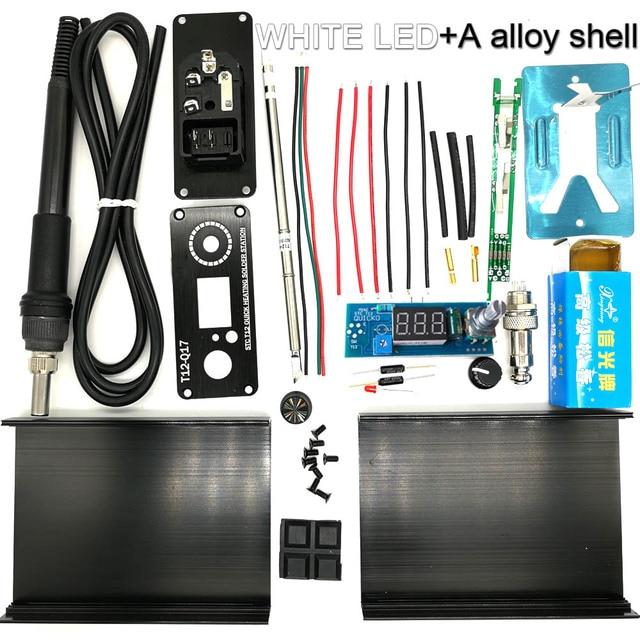 WHITE LED alloy shel
