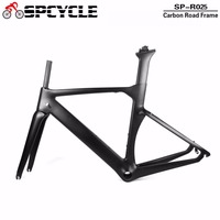 2019 T1000 UD Carbon Fiber Road Bicycle Frames ,Racing TT Aero Road Carbon Bike Framesets Cycling Road Carbon Frames BB386