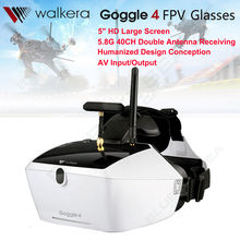 Free shipping!WALKERA Goggle4 FPV Wireless 5.8G 40CH Aerial Video Glasses for 250 Racing Drone