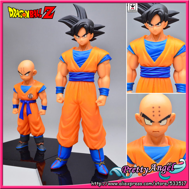 PrettyAngel - Genuine Banpresto Dragon ball Z Figure Super Structure Concrete Collection Vol 3 Goku and Krillin Action Figure