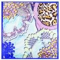 60*60 см Весной новый драгоценный кулон шаблон шелковый шарф для Дам мешок бесплатный шаль шарфы для женщин украл пончо и накидки A007