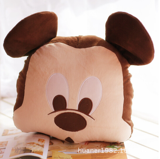 Mickey and Minnie mouse Cushion Pillow plush toys, The best Christmas gift free shipping