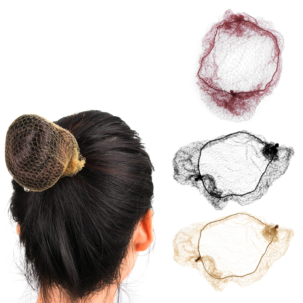 Detail Feedback Questions about 10Pcs bag Invisible Hair Nets Elastic Edge Mesh  Hair Ring Bun Hair Style Cover Equestrian Ballet Hair Styling Tool ... c632f66651f5