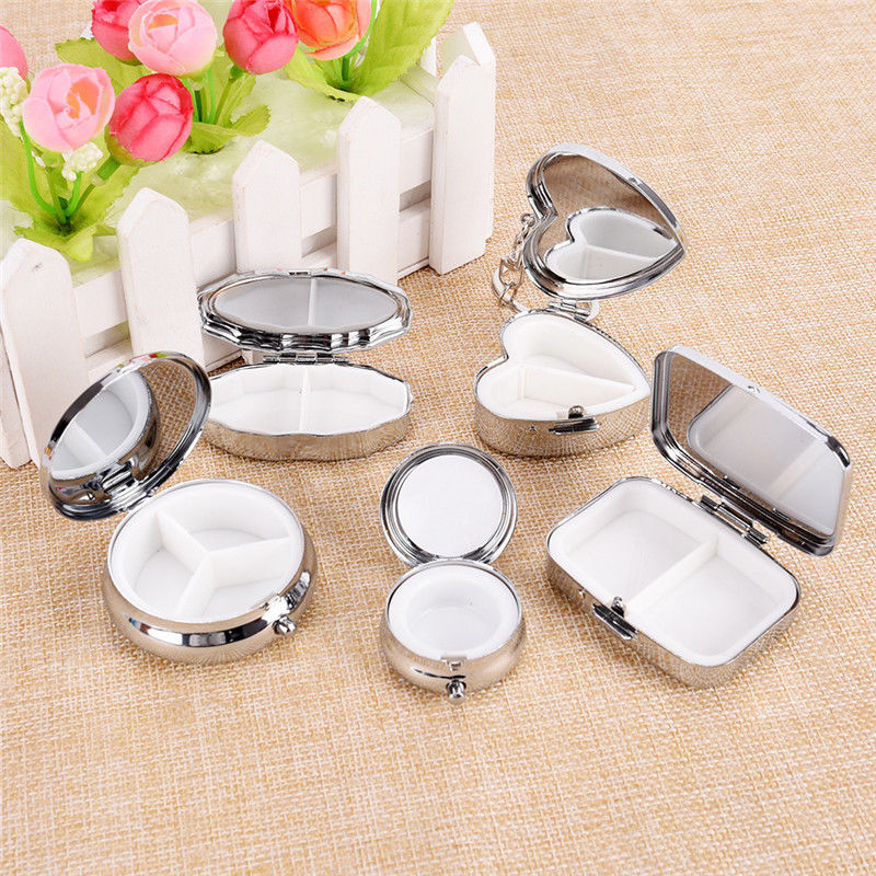 Take A Week To Receive Box Pills Case Medicine Metel Special Jewelry Round Pill Boxes Seal Portable Medicina Container