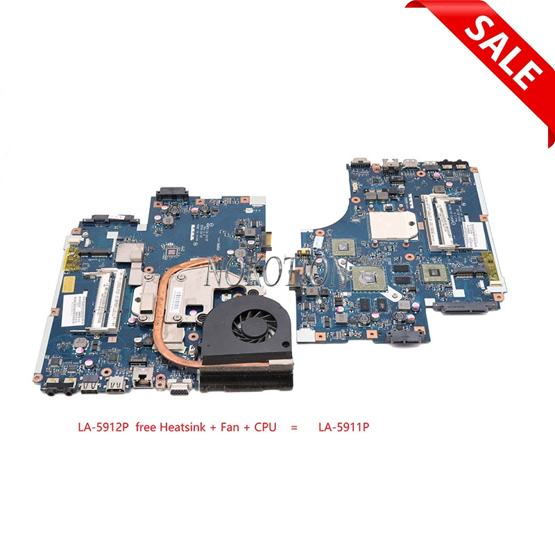 NOKOTION Laptop Motherboard for Acer Aspire 5551 NV53 MBbl002001 MB. BL002.001 Mainboard Tarjeta Madre LA-5912P Mother BoardNOKOTION Laptop Motherboard for Acer Aspire 5551 NV53 MBbl002001 MB. BL002.001 Mainboard Tarjeta Madre LA-5912P Mother Board
