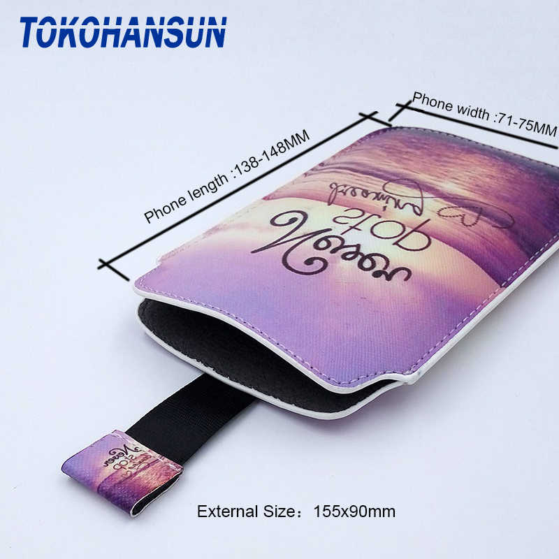 TOKOHANSUN housse pour Vertex impressionner Win printemps 4G saturne ouvert Novo Lotus chance Lion 3G PU cuir pochette universel téléphone sac