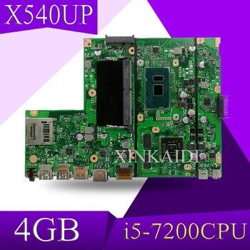 XinKaidi X540UP laptop Motherboard X540UP X540U A540U R504U Mianboard i5-7200 4GB RAM