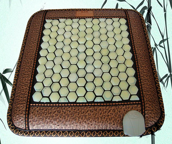 Free Shipping Massager Health Benefits Care Body Jade Mat Far Infrared Heat Jade Cushion 45cm*45cm good quality natural jade mat tourmaline heat chair cushion far infrared heat pad health care mat ac220v 45 45cm free shipping