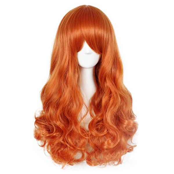 BCHR Кудрявые Волнистые Синтетические парики для черных женщин косплей парик блонд Синий Розовый Серый Фиолетовый волосы для человеческих Вечерние