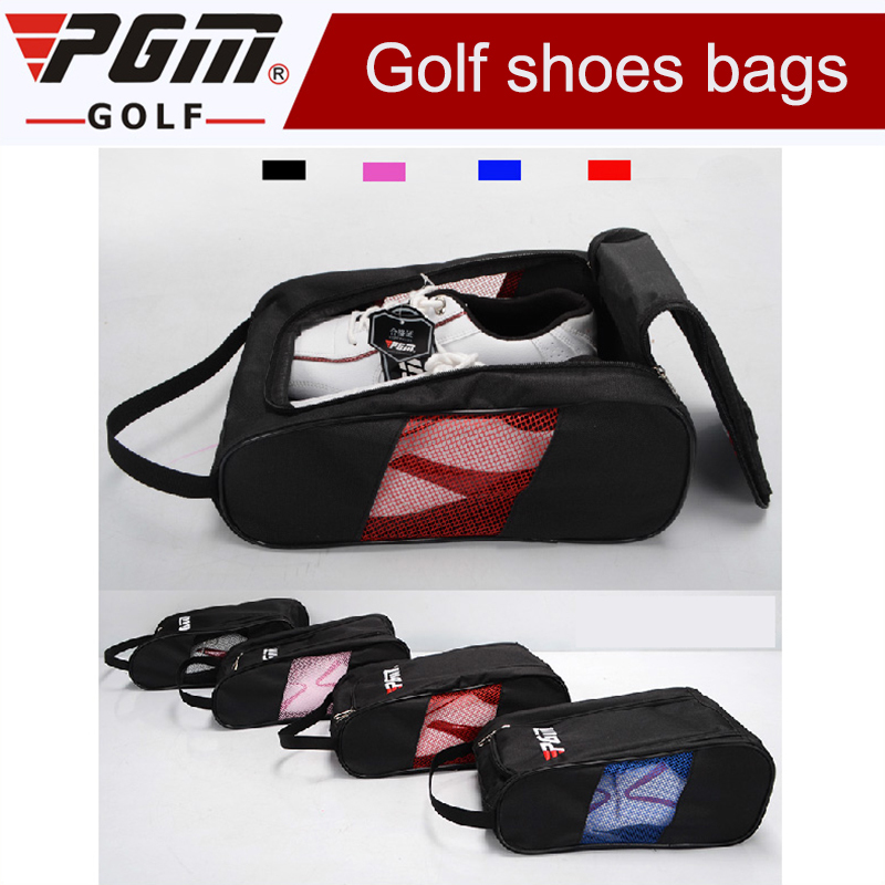 2018 Brand New Sport Big Shoe Bag Golf Shoes Package Female High-grade Nylon Light Practical 4 ColorsTravel Shoes Bag for Men