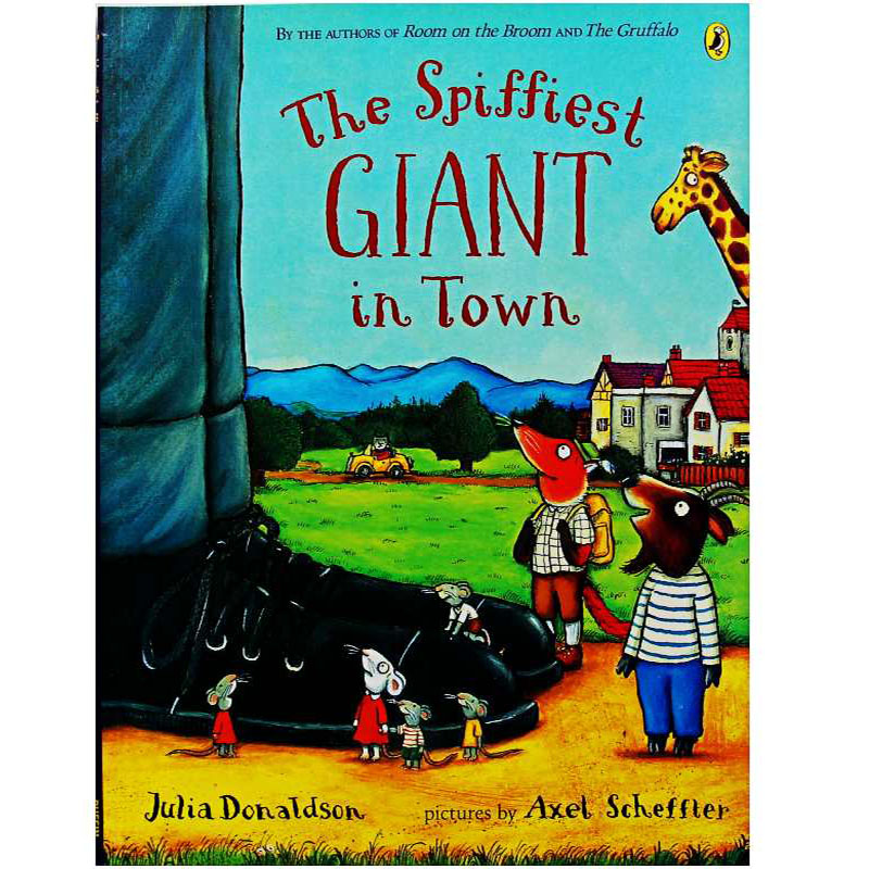The Spiffiest Giant In Town By Julia Donaldson Educational English Picture Book Learning Card Story Book For Baby Kids Children