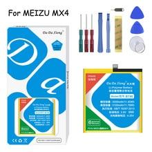 Original Da Da Xiong Battery BT40/BT41/BT51/BT56/BT53S For Meizu MX4/MX4 Pro/MX5/MX6/Pro5/Pro6 Replacement Battery +Free tools цена 2017