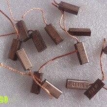 10 шт./лот, электрический генератор, угольные щетки, генератор, электроинструмент, универсальный автомобильный регулятор, высокая медь(5*8*20 мм