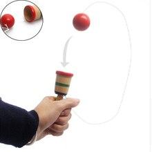 Деревянная игрушка игра на координацию меч жонглирование мяч навыки деревянные навыки обучающая игрушка для детей
