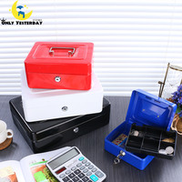 Safe Large Money Box Coin Piggy Bank Lockable Metal Saving Cash Box With Coins Tirelire Chat