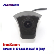 Liandlee Car Front View Camera AUTO CAM For Audi A1 A2 A3 A4 A5 A6 A8 TT Q3 Q5 Q7 ( Not Reverse Rear Parking Camera ) 20pcs kit cam follower hydraulic lifters for audi a3 a4 a6 tt 1 8t dohc 20v