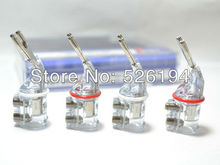 Free Shipping (Pack of 4 pcs) WBT-0661 Ag nextgen Pure Silver Speaker Spade Connector 6mm