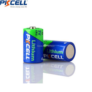 Image 2 - 12 sztuk baterii PKCELL CR2 CR15H270 850mAh 3V li mono2 Batteria dla GPS systemy zabezpieczeń kamera sprzęt medyczny lampa Radio