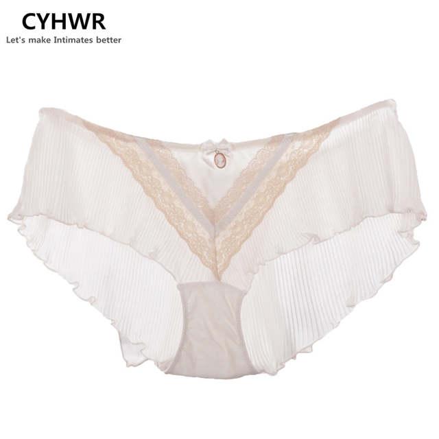 9c6ed3d6a CYHWR laço floral das Mulheres Calcinha sexy cuecas rendadas das mulheres lingerie  sexy calcinha L-