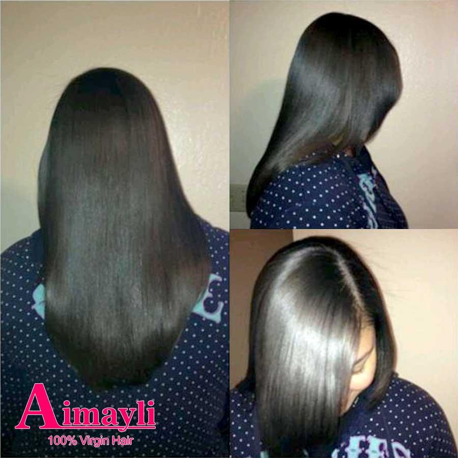 Cheap Malaysian Virgin Hair Straight 3Bundle Deals Grace Malaysian Straight Virgin Hair 7A Peerless Virgin Human Hair Weave #1b от Aliexpress INT