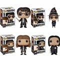 FUNKO POP Harry Potter Hat Cap Hermione Jean Grang Severus Snape Harry Potter PVC Action Figure Collection Model Doll Gifts Toys