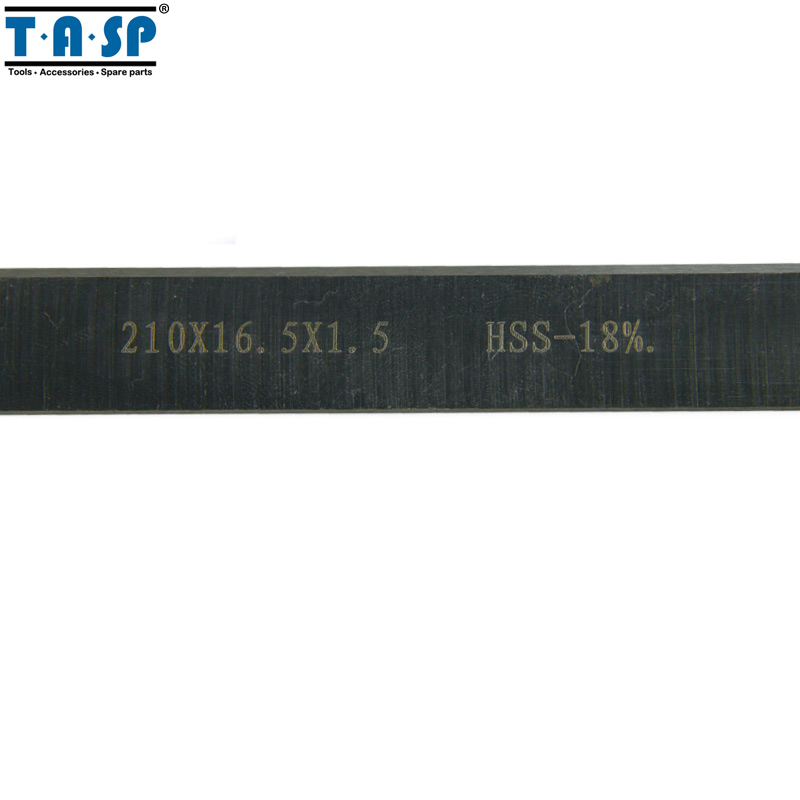 """Image 5 - TASP 8"""" 210mm HSS Thickness Planer Blades 210x16.5x1.5mm Wood Planer Knife for Einhell Erbauer Woodworking Power Tool Parts-in Woodworking Machinery Parts from Tools"""