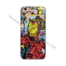 Comic Book Phone Cases iPhone 6 6S 5 5S SE 7 Plus