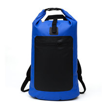 Outdoor Sports Waterproof Backpack Camping Drifting Storage Travel Swimming Bag Drying 15L Simple