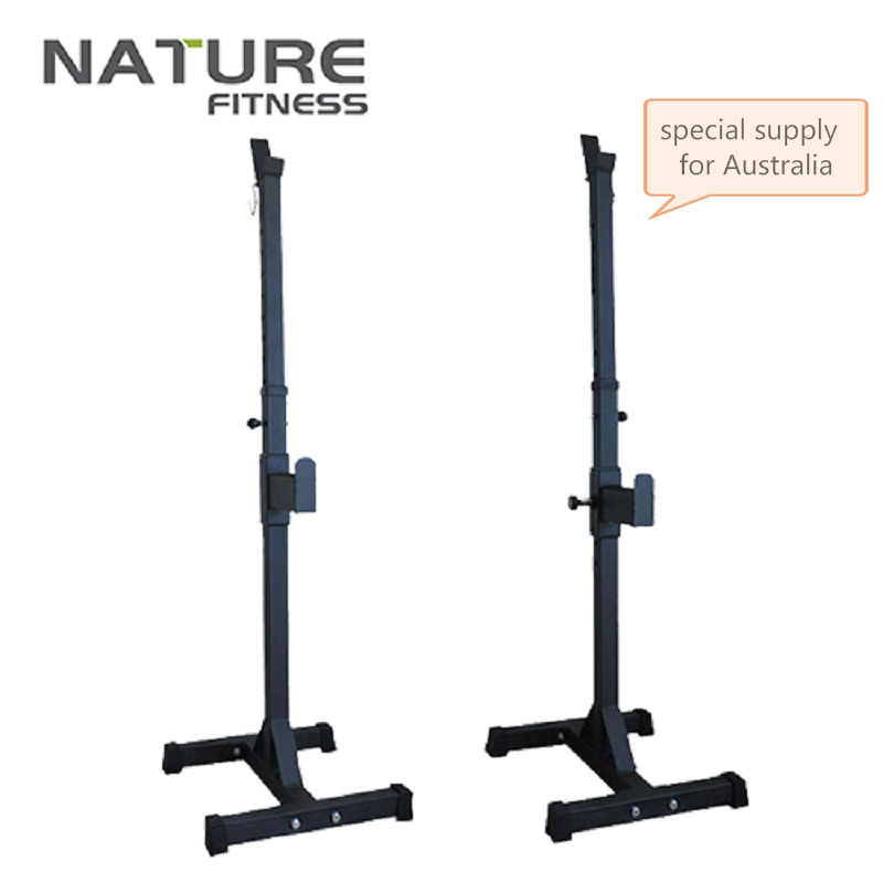 High Quality Adjusted Squat Stand Barbell Rack Portable Squat Bench Stands Fitness Equipment Can