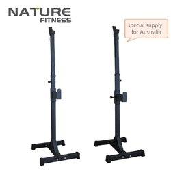 Soporte de sentadillas ajustable de alta calidad, soporte de pesas portátil para sentadillas, equipo de Fitness, puede soportar 120 kg