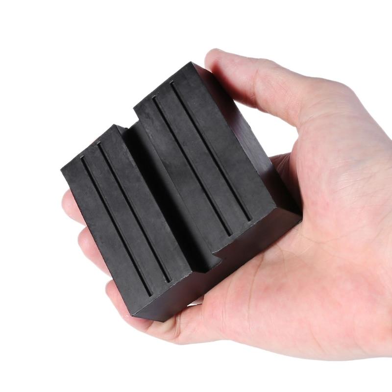 Image 5 - Квадратная универсальная щелевая рамка рельс Пол Джек прокладка адаптер ремонт автомобиля