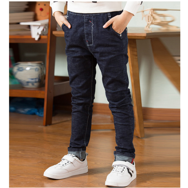 High Quality Autumn Spring Baby Jeans For Boys  4