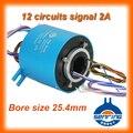 Лидер продаж  для сигнала 12 проводов/контактных цепей  внутренний размер 25 4 мм сквозного отверстия/отверстия  скользящее кольцо