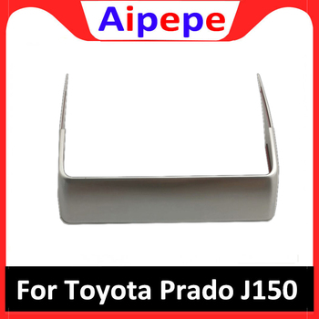 Auto Styling Voor Toyota LAND CRUISER PRADO 150 FJ150 2018 Front Control Airconditioning Trim Strips Cover Stickers Accessoires
