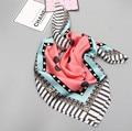 [Ode To Joy]Unisex Women silk satin square Scarf Shawl digital flower Print Vintage Scarves Scarf Wraps high quality