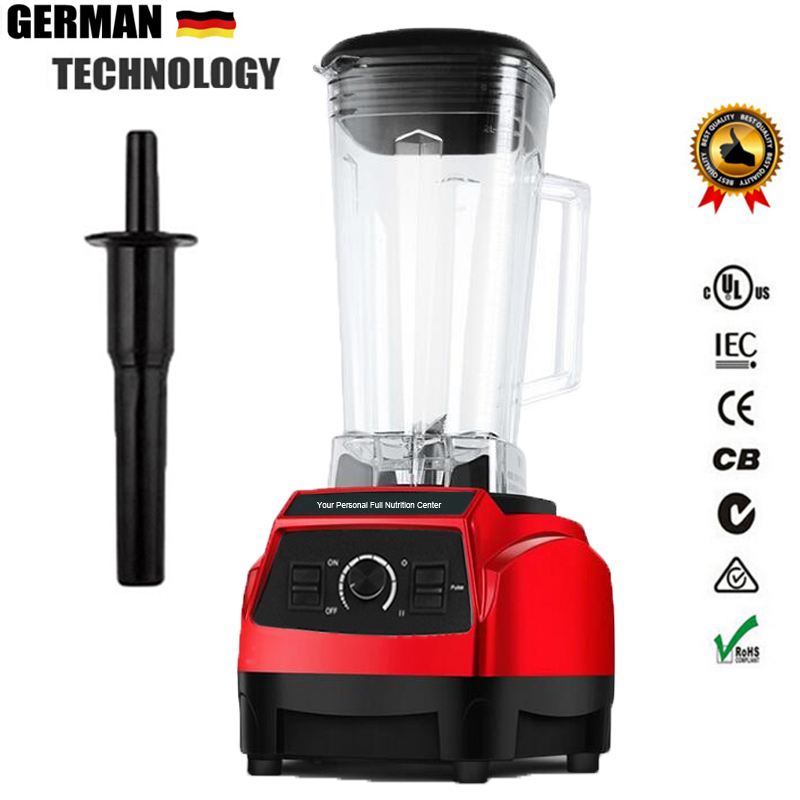Unbeatable BPA FREE EU Plug 3HP BPA FREE commercial blender home professional smoothies mixer juicer