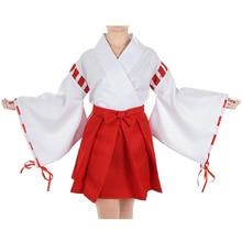 Japanese Style Sweet  Kimono Cosplay Costumes Lolita Halloween Costume European size Free Shipping