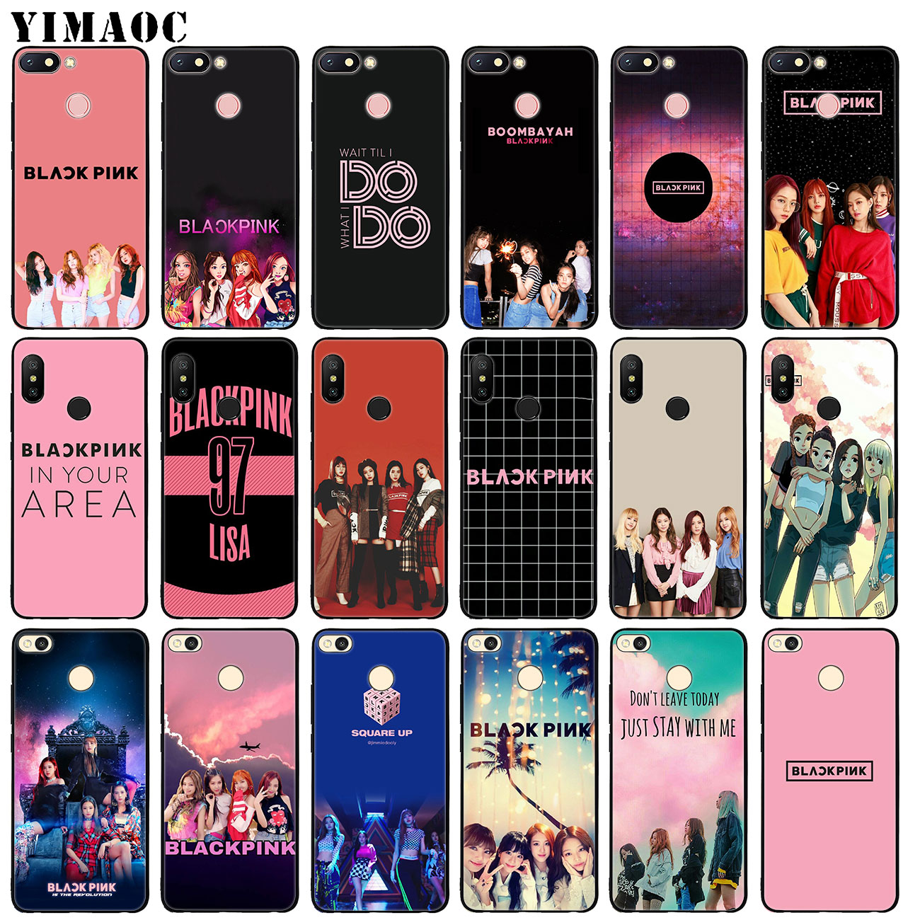 Phone Bags & Cases Fitted Cases Yimaoc Jennie Blackpink Kpop Lisa Soft Silicone Phone Case For Xiaomi Redmi 6a 5a Note 7 4 4x 5 Plus 6 Pro Mi Plus Black Cover Highly Polished