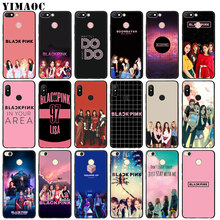 YIMAOC JENNIE BLACKPINK Kpop LISA Soft Silicone Phone Case for Xiaomi Redmi K20 Pro 6A 7A Note 8 7 5 6 Pro Mi Black Cover