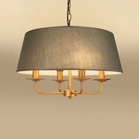 American Vintage E14 Led Chandelier Simple Creative Nordic Porch Bar Lamp for Living Room Bedroom Cafe Shop Light Iron Lighting