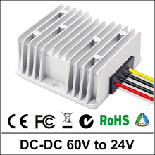 60V TO 24V 3A/15A120W DC Boost Converter Step-down Waterproof Control Car Module Power Supply 60Volt 24Volt 3A/15Amp
