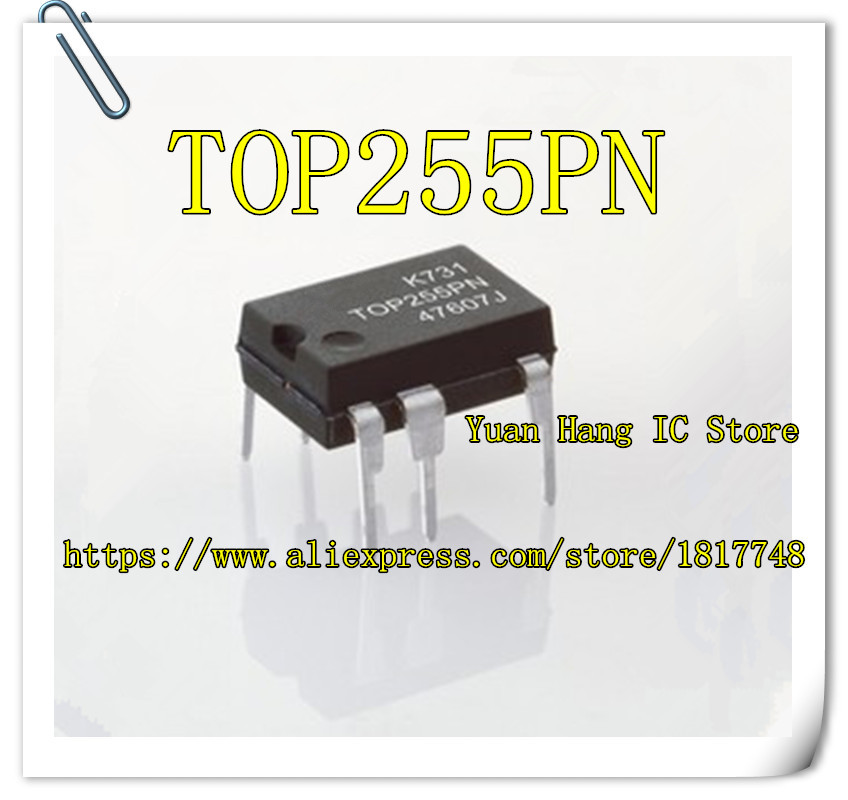 10PCS/LOT TOP255PN TOP255P TOP255PG TOP255 DIP-7