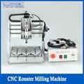 CNC router kit metal milling machine metal engraving machine 300W MACH3 2020 mini engraving machine