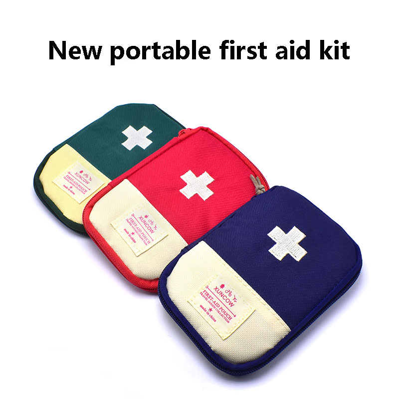 Family Outdoor Travel Adventure Portable Storage Bag First Aid First Aid Kit Survival Emergency Kit Small Compact AndLightweight