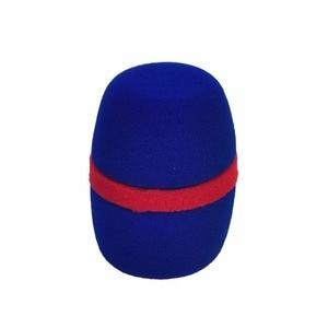 Image 5 - WS 01 çeşitli renkler kalınlaşmak formu profesyonel mikrofon ön camları Mic kapak koruyucu ızgara kalkan yumuşak sünger kap