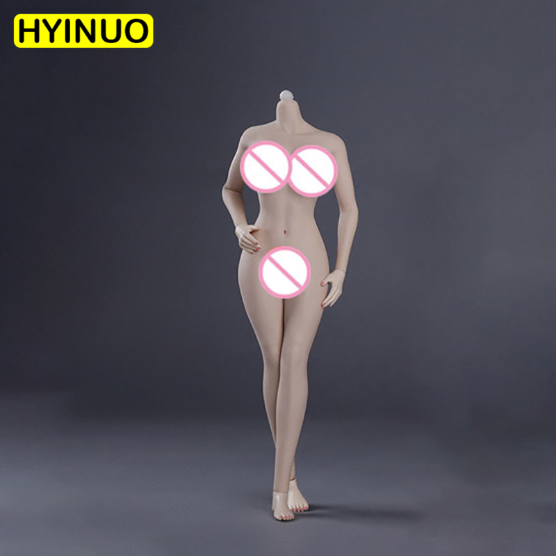 1/6 Scale Female A Multicolor Rubberized <font><b>Sexy</b></font> Big Breasts New Girls body Action Figure Body Female <font><b>12</b></font>' Body Figure Accessory image